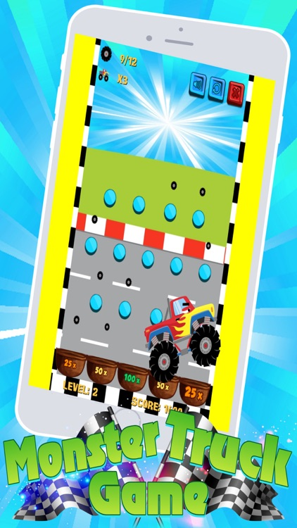 Monster Trucks! Fun 2 3 4 year old games for kids screenshot-2