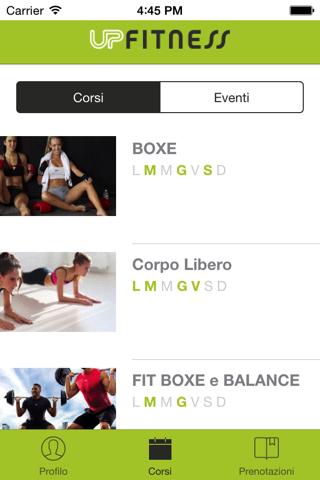 UP Fitness Mobile - náhled