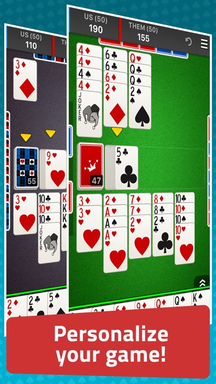 Canasta: Classic Card Game screenshot-3