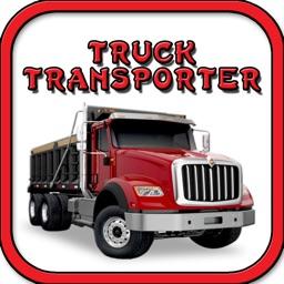 Tank Transporter Truck on Dangerous Highway Sim