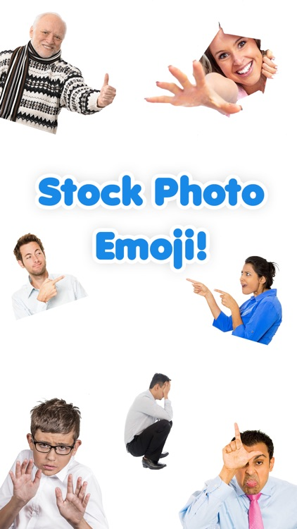 Stockmoji - Funny & Awkward Stock Photo Emoji