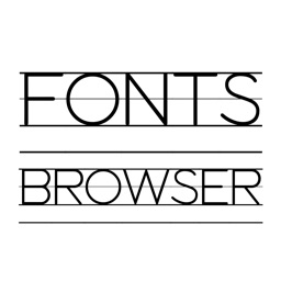 Fonts Browser