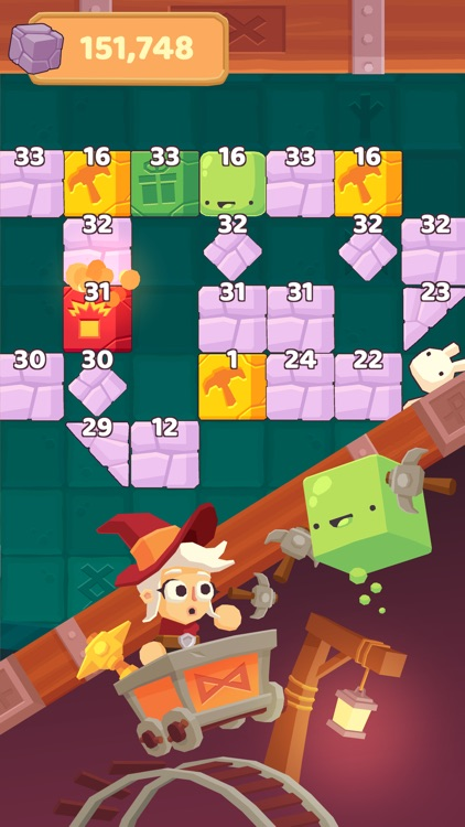 Charming Runes - Endless Arcade Block Breaker screenshot-3