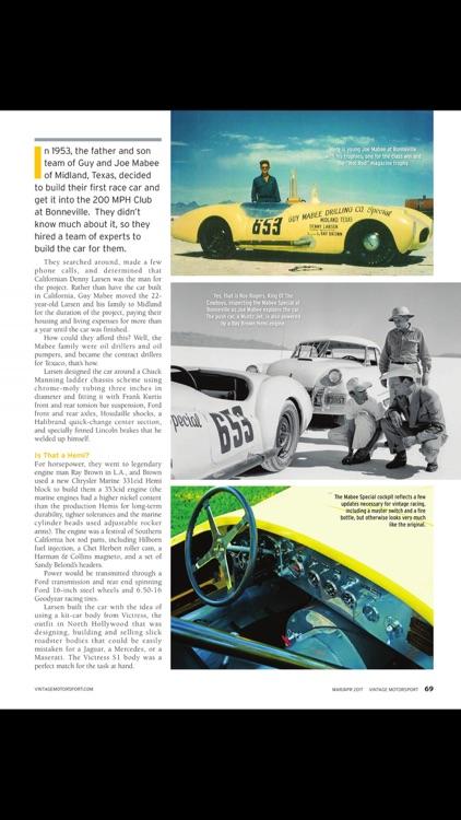 Vintage Motorsport screenshot-3