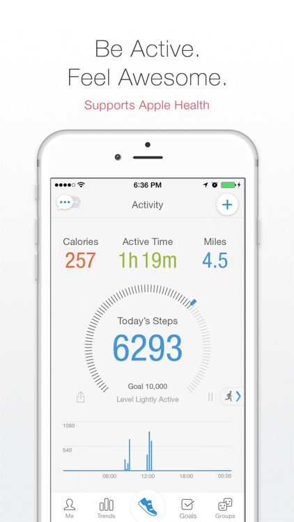 Pacer - Pedometer plus Weight Loss and BMI Tracker app image