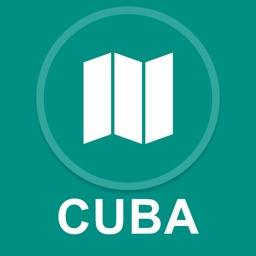 Cuba : Offline GPS Navigation