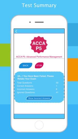 ACCA P5: Advanced Performance Management