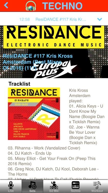 Techno Mix & Workout Music