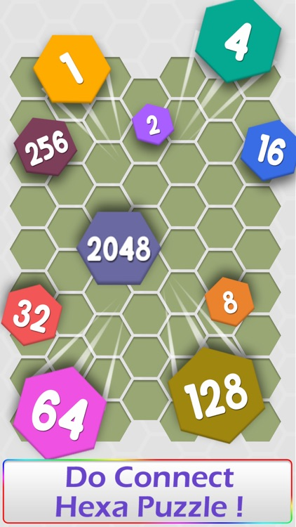 Connect Hexa Puzzle - Matching Numbers screenshot-4