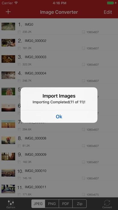 Image Converter for iPhoneのおすすめ画像3