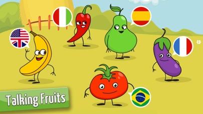果物や野菜: 子供のためのゲーム 赤ちゃん - 無料 - 教育ののおすすめ画像3