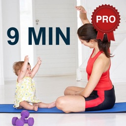 9 Minutes Mom and Baby Workout Challenge PRO