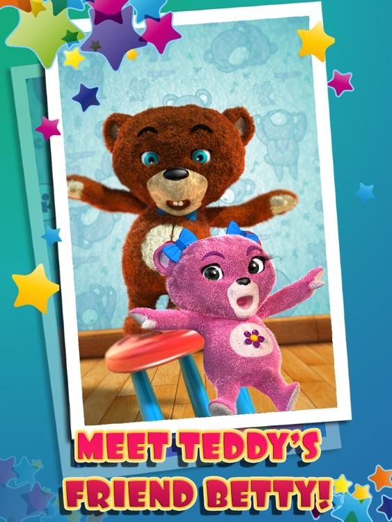 Talking Teddy Bear HD Premium screenshot-4