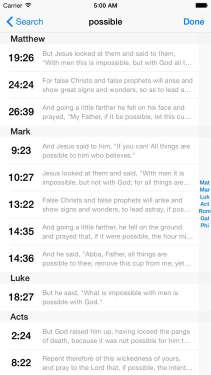 VerseWise Bible Revised Standard Version screenshot-4