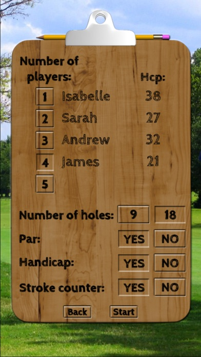 Screenshot for Golf & Discgolf scorecard Pro in Pakistan App Store