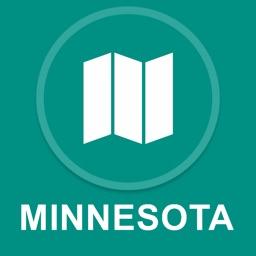 Minnesota, USA : Offline GPS Navigation