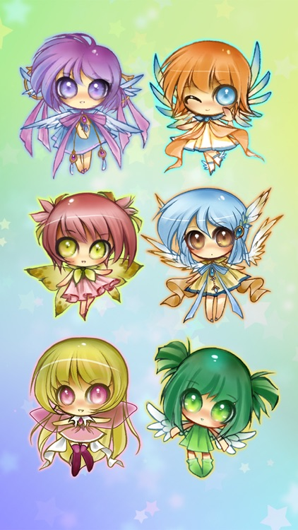 Anime Fairy Stickers