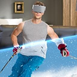 VR Ski Winter Simulator