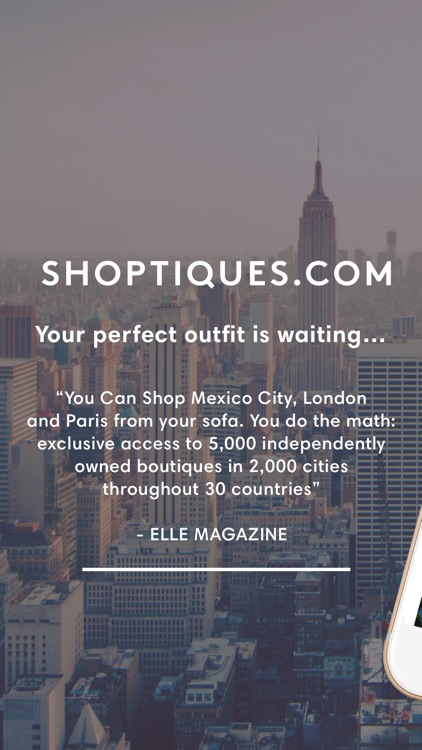 Shoptiques. Shop local stores.