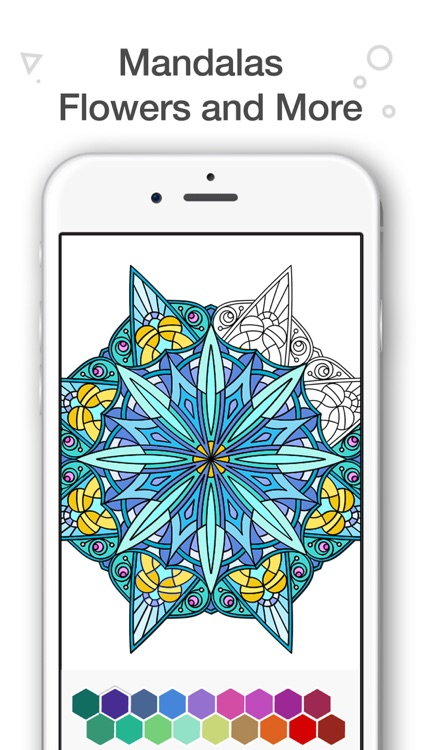 Coloring Book for Adults - Color Me Coloring Pages screenshot-3