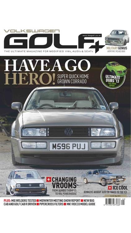 Volkswagen Golf + Magazine