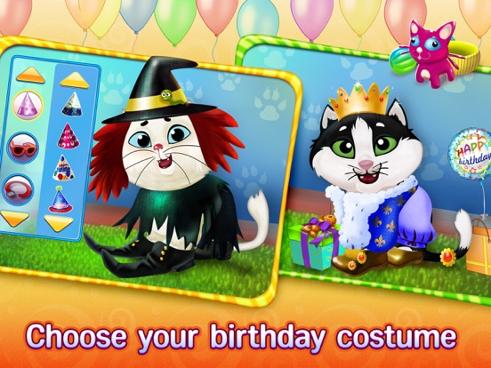 Скачать игру Kitty Cat Birthday Surprise: Care, Dress Up & Play