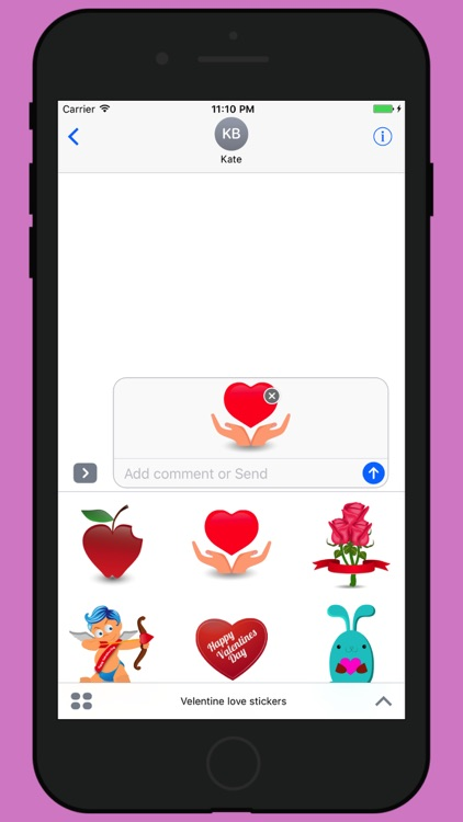 Valentine week love stickers 2017 screenshot-3