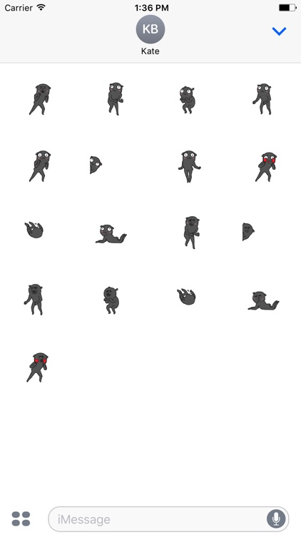 Animated Funny Thief Stickers Pack For iMessage