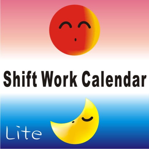 Shift worker's calendar Lite iOS App