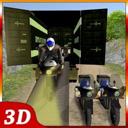 OffRoad Police Bike Transport – Motorbike Driving