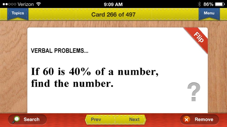CAHSEE Exit Math Prep Flashcards Exambusters screenshot-2