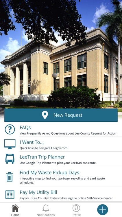 Lee County Request for Action