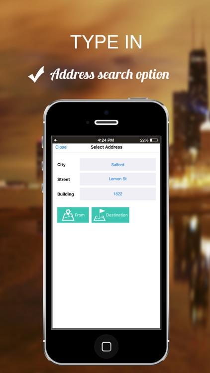 Lancashire, UK : Offline GPS Navigation screenshot-4