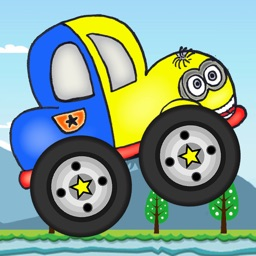 Cute Banana Car Climb Hill