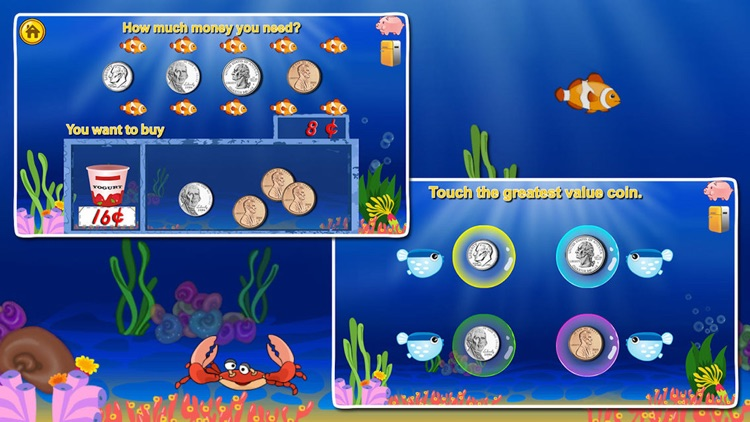 Amazing Coin(USD)- Money learning & counting games screenshot-1