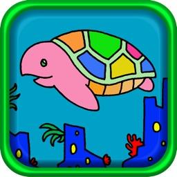 Aquarium Coloring ~Ocean life~ for iPhone