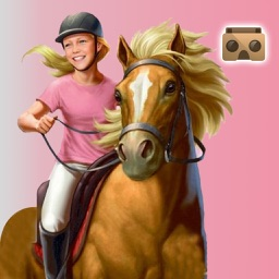 VR Real Horse Racer : Hill Climb-ing 3D