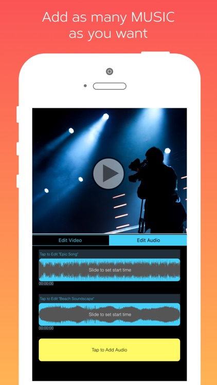 Video Maker with Music: Add Music to Video Editor screenshot-3