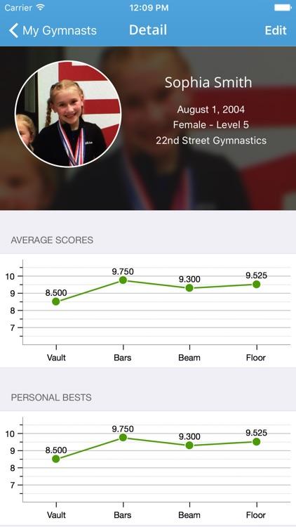 Kip - Gymnastics Meet Tracker screenshot-3