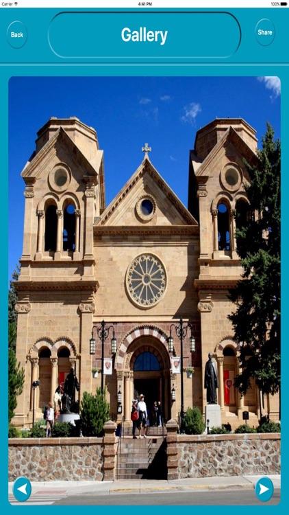 Santa Fe NM USA Offline City Maps Navigation screenshot-4