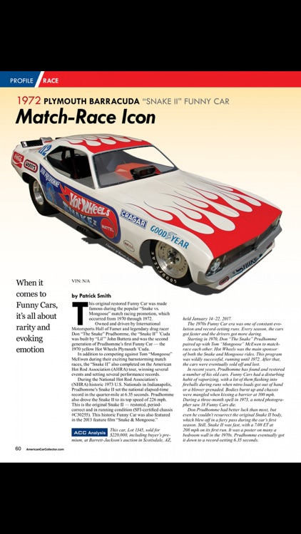 American Car Collector Magazine screenshot-3