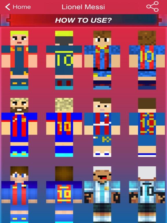 Football Sport Skins For Minecraft Pocket Edition App Price Drops - Skins para minecraft pe de dragon ball z