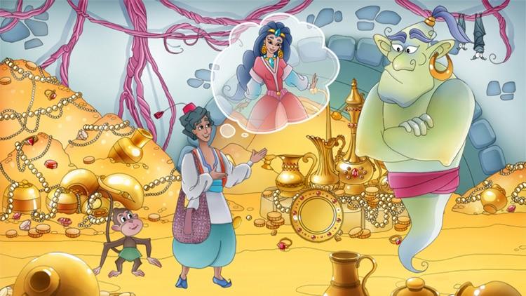 Aladdin and The Magic Lamp - Interactive Kids Book screenshot-4