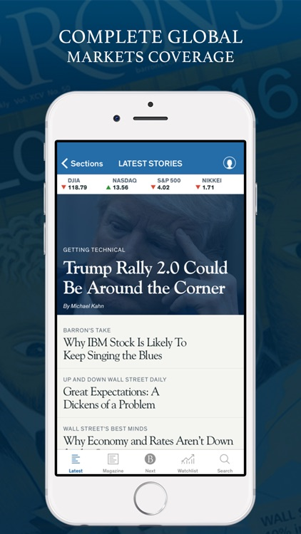 Barron's – Global Stock Markets & Financial News app image