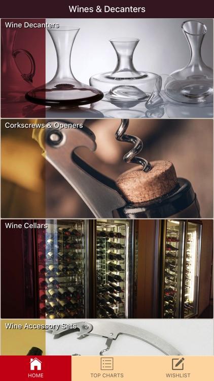 Wines & Decanters