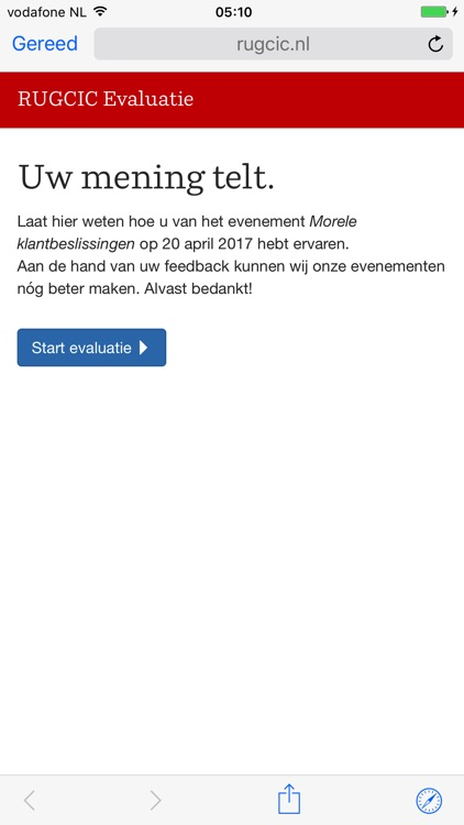 RUGCIC University of Groningen screenshot-4