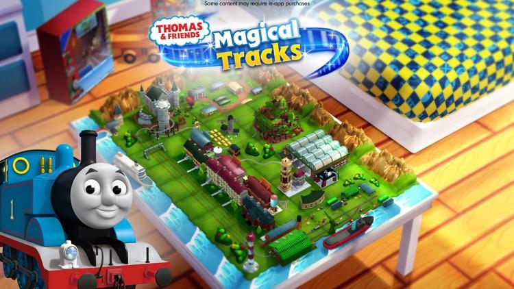 Thomas & Friends: Magical Tracks - Kids Train Set screenshot-4