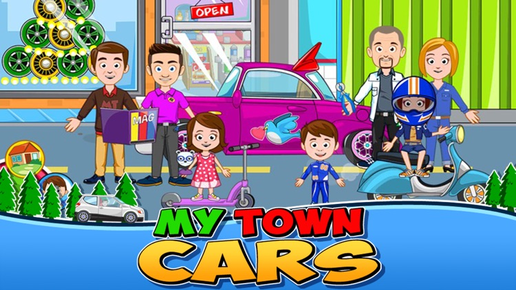 My Town : Car (wash, fix & drive cars) screenshot-0