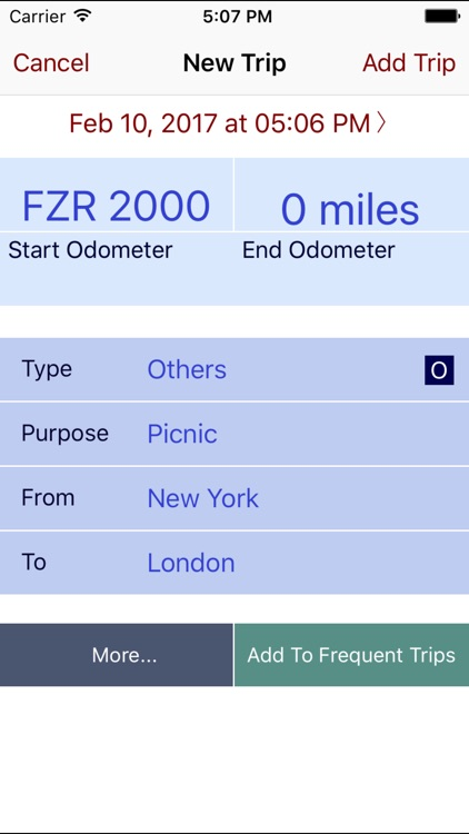Trip Miles Plus screenshot-2