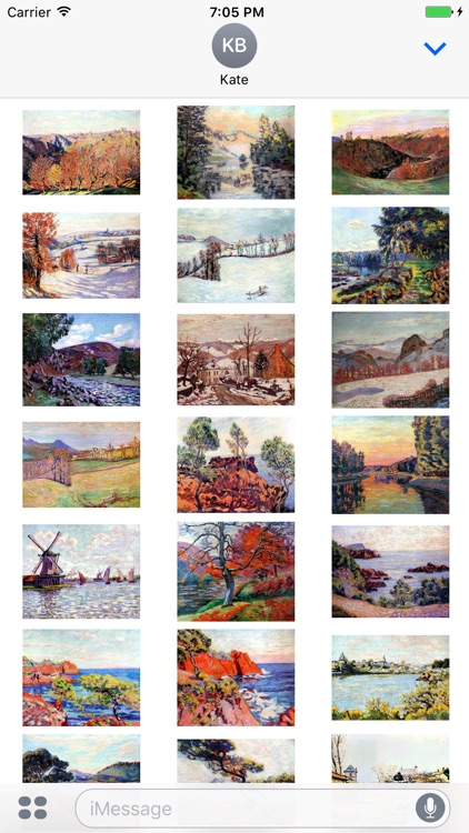 Armand Guillaumin Artworks Stickers
